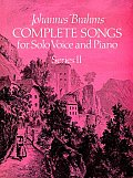 Complete Songs for Solo Voice & Piano Series II