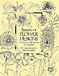 Treasury of Flower Designs for Artists Embroiderers & Craftsmen