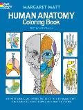 Human Anatomy Coloring Book Cover