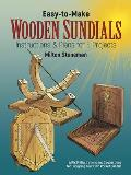 Easy-To-Make Wooden Sundials Cover