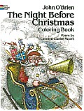 Night Before Christmas Coloring Book (Dover Pictorial Archives) Cover