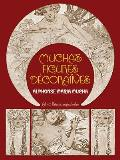 Muchas Figures Decoratives All Forty Plates in Original Color