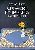 Cut Work Embroidery & How To Do It