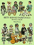 Betty Bonnet Paper Dolls In Full Color