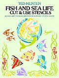 Fish & Sea Life Cut & Use Stencils