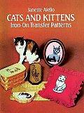 Cats & Kittens Iron On Transfer Patterns
