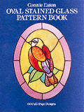 Oval Stained Glass Pattern Book 60 Full Cover
