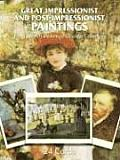 Great Impressionist & Post Impressionist Paintings 24 Cards from the Art Institute of Chicago Collection