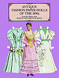Antique Fashion Paper Dolls of the 1890s in Full Color