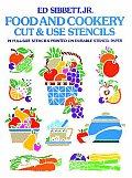 Food & Cookery Cut & Use Stencils