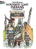 Northwest Coast Indians Coloring Book (Dover Pictorial Archives)