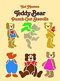 Teddy Bear Punch Out Stencils
