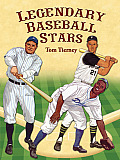 Legendary Baseball Stars Paper Dolls in Full Color
