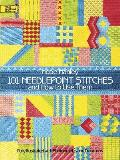 101 Needlepoint Stitches and How to Use Them: Fully Illustrated with Photographs and Diagrams (Dover Needlework) Cover