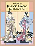 Japanese Kimono Paper Dolls in Full Color