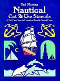 Nautical Cut & Use Stencils 92 Full Size Stencils Printed on Durable Stencil Paper