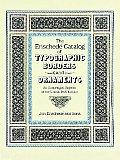 Enschede Catalog Of Typographic Borders