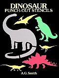 Dinosaur Punch Out Stencils