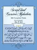 Script & Cursive Alphabets 100 Complete Fonts
