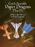 Cut & Assemble Paper Dragons (Models & Toys)