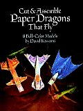 Cut & Assemble Paper Dragons That Fly