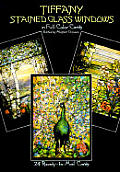 Tiffany Stained Glass Windows: 24 Ready-To-Mail Full-Color Postcards (Card Books)