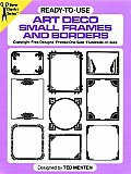 Ready To Use Art Deco Small Frames & Borders