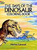 Days Of The Dinosaur Coloring Book