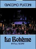La Boheme in Full Score (87 Edition)