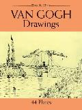 Van Gogh Drawings (Dover Art Library) Cover