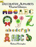 Decorative Alphabets Charted Design