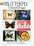 Butterfly Charted Designs (Dover Needlework) Cover