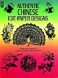 Authentic Chinese Cut-paper Designs (Dover Design Library) Cover