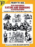 Ready To Use Old Fashioned Eating & Drinking Illustrations