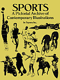 Sports: A Pictorial Archive of Contemporary Illustrations (Dover Pictorial Archives)