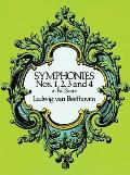 Symphonies Nos. 1, 2, 3 and 4 in Full Score Cover