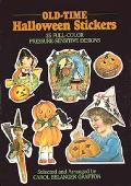 Old-Time Halloween Stickers: 24 Full-Color Pressure-Sensitive Designs