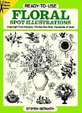 Ready To Use Floral Spot Illustrations