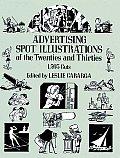 Advertising Spot Illustrations of the Twenties & Thirties 1593 Cuts