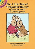The Little Tale of Benjamin Bunny Coloring Book (Dover Little Activity Books)