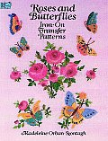 Roses & Butterflies Iron On Transfer Patterns