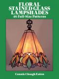 Floral Stained Glass Lampshades Cover