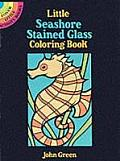 Little Seashore Stained Glass Coloring Book