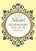 Symphonies Nos. 22-34 in Full...