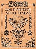 2,286 Traditional Stencil Designs (Dover Pictorial Archives) Cover