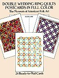 Double Wedding Ring Quilts Postcards in Full Color: 24 Ready-To-Mail Cards (Card Books)