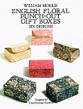 English Floral Punch Out Gift Boxes