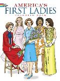America's First Ladies Coloring Book Cover