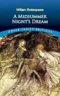 A Midsummer Night's Dream (Dover Thrift Editions) Cover