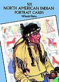 Six North American Indian Portrait Postcards (Small-Format Card Books)